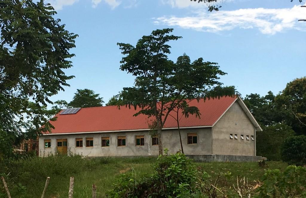 Blick von Norden auf das Joseph-House